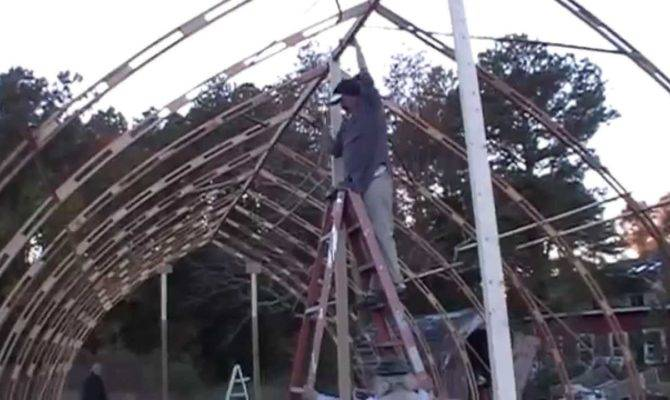 Gothic Arch Greenhouse Project Youtube