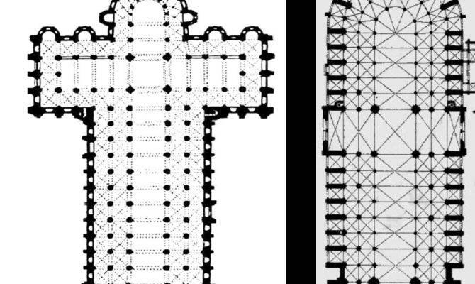 Gothic Architecture Floor Plan Interior Design