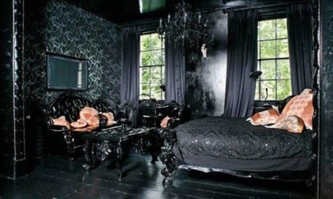 Gothic Interior Design Ideas Modern Dark Victorian Bedroom