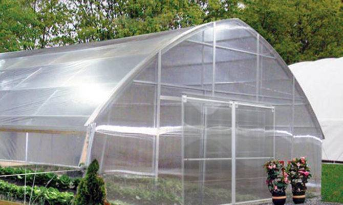 Gothic Poly Film Greenhouses Commercial Greenhouse Supplies