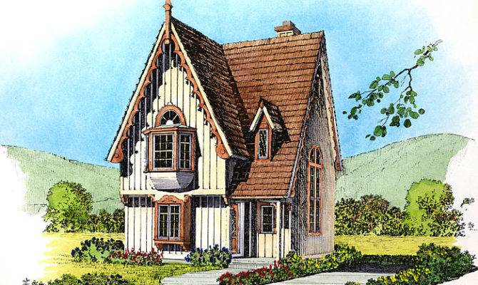 Gothic Revival Cottages Ferrebeekeeper