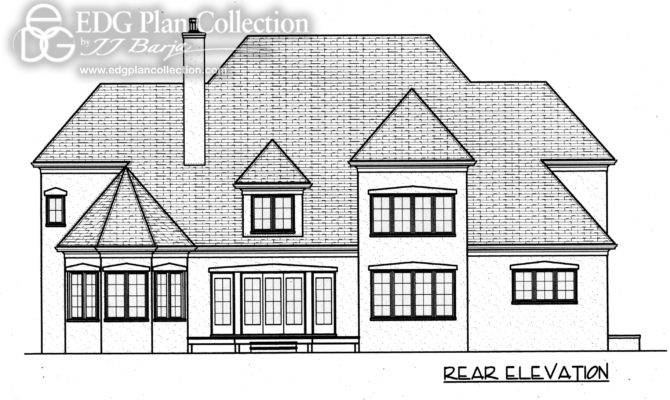 Gothic Striking Exterior Design House Plan Just