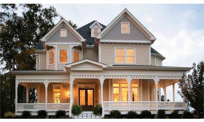 Graceful Detailed Hwbdo Victorian Builderhouseplans