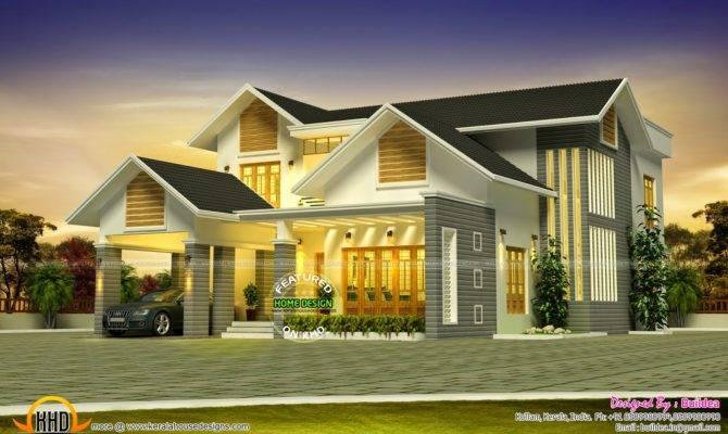 Grand House Design Kerala Home Floor Plans