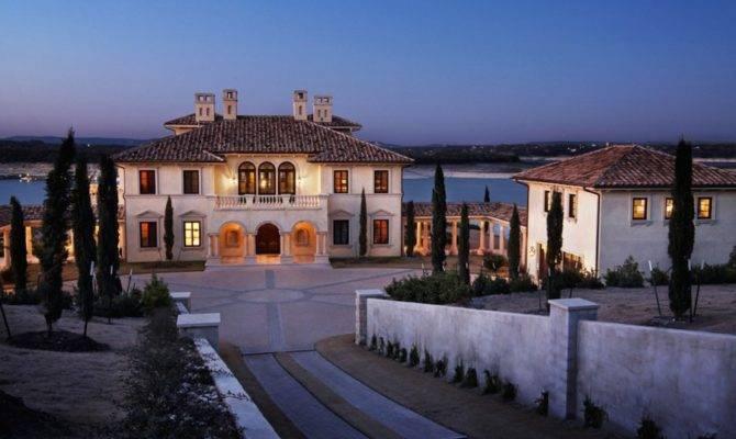 Grand Italian Palazzo Style Mansion Austin Texas