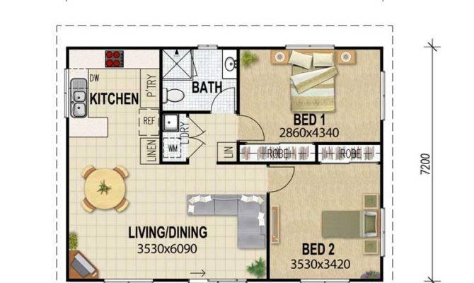 garage conversion plan ideas - Granny Flat Plans Designs House Queensland House Plans