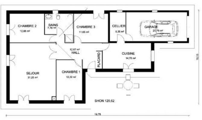 Graph Grammar Architectural Floor Plan Representation
