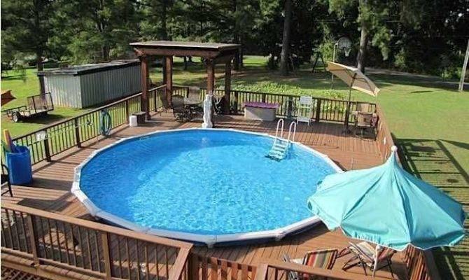 Great Above Ground Swimming Pool Ideas