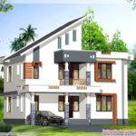 Great Bhk Contemporary Kerala Home Design