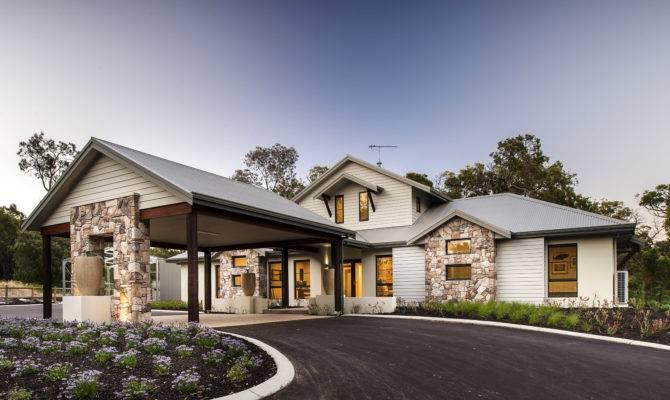 Great Design House Stone Modern Architecture Aprar