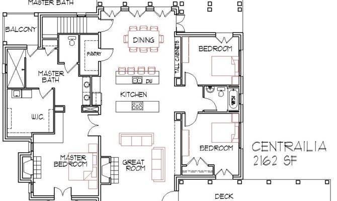 Great Floor Plans Design Open Small