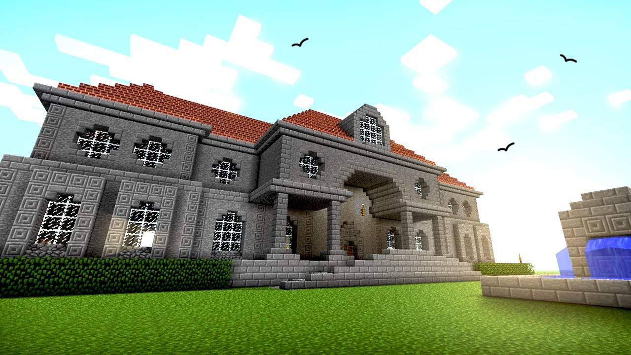 Great House Ideas Designs Minecraft Youtube - House Plans ...