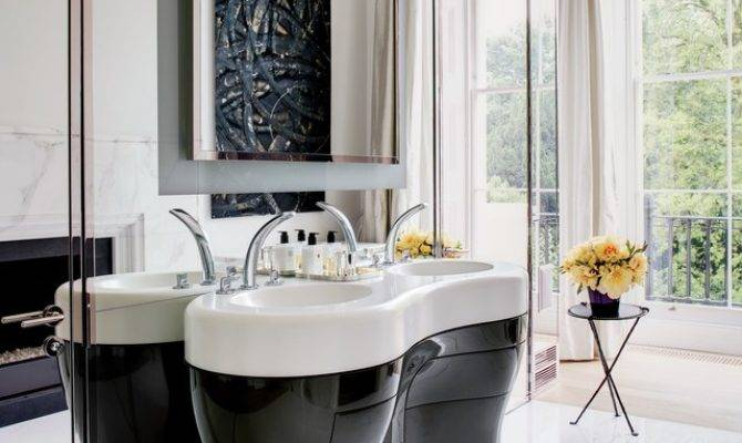 Great Ideas Bathroom Double Vanities Photos