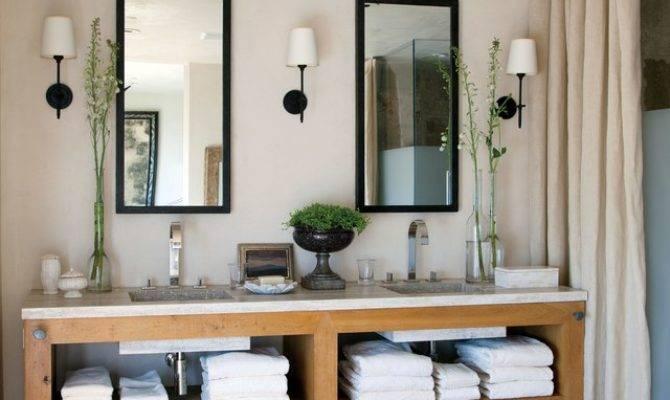 Great Ideas Bathroom Double Vanities Photos
