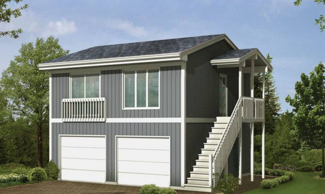 Great Ideas Car Garage Living Space Above Plans House Plans 108255