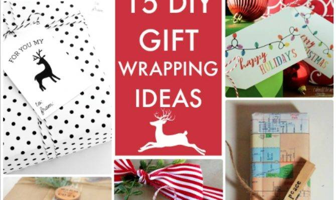 Great Ideas Diy Gift Wrapping
