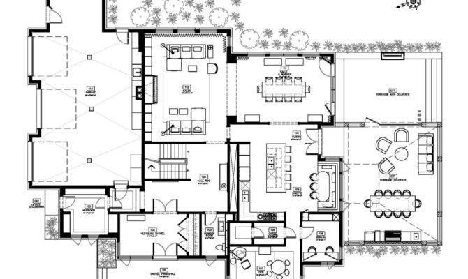 Great Modern House Floor Plans Cottage