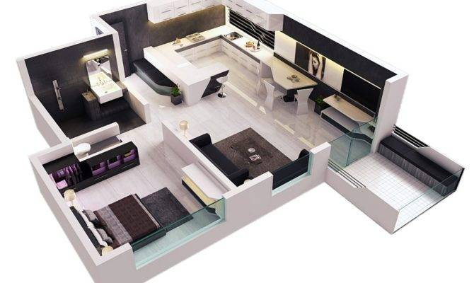 Great Plans Small Apartment Interior Design