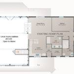 Great Room Addition Plan Post Beam Barn Style Homes