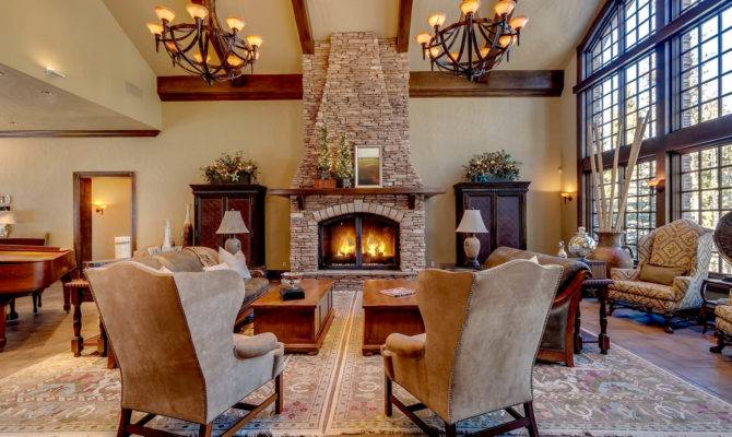 Great Room Fireplace Views Pin