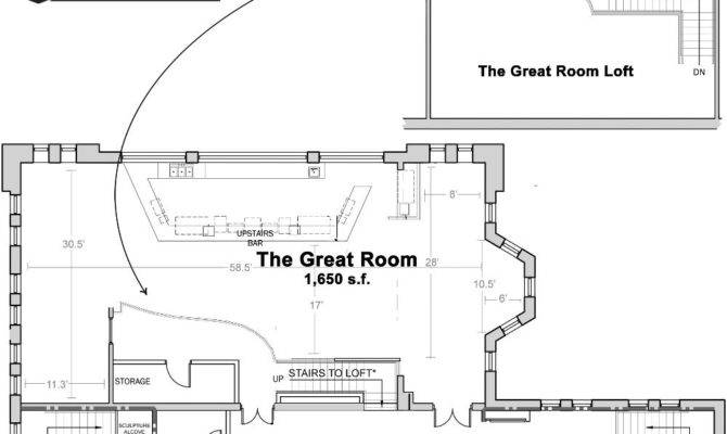 Great Room Floor Plans House