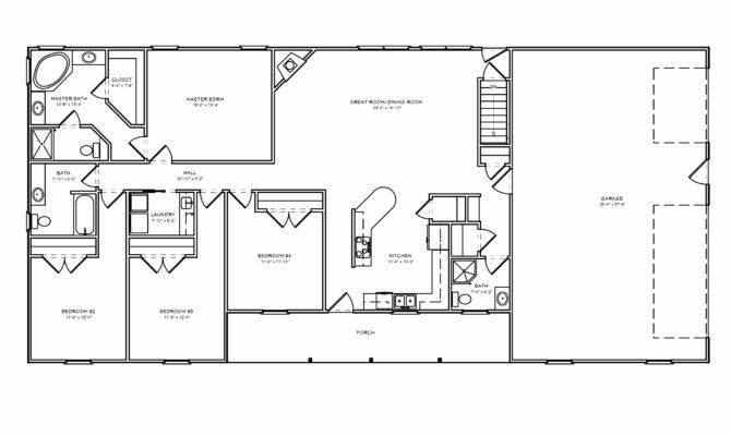 Great Room Ranch House Plan Houseplan Greatroom