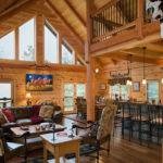 Great Rooms Log Homes America