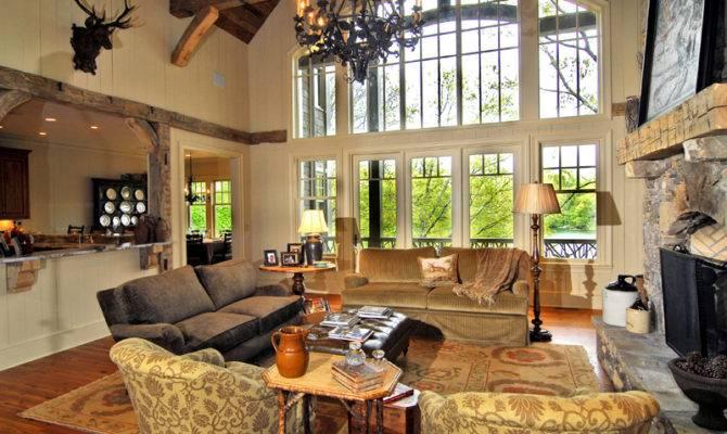 Great Rooms Luxury House Plan Room