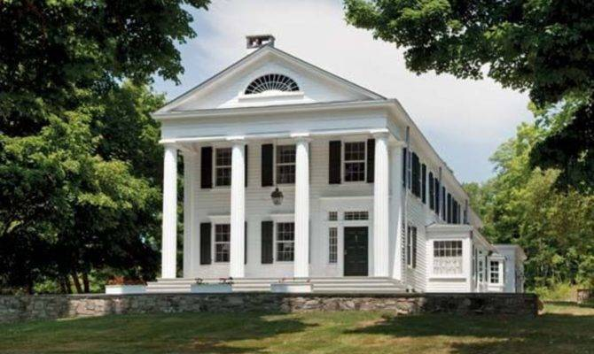 Greek Revival Expansion Restoration Design