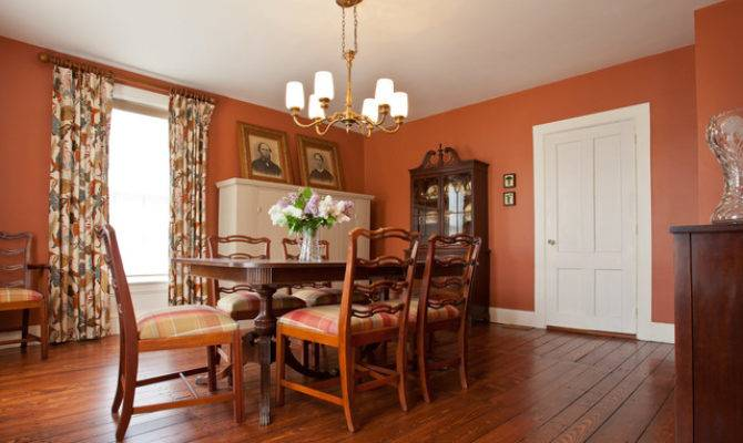 Greek Revival Farmhouse Vermont Dining