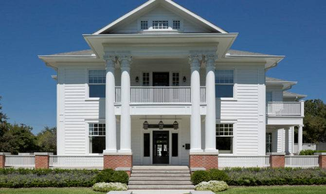 Greek Revival Home Traditional Interiors Bunch