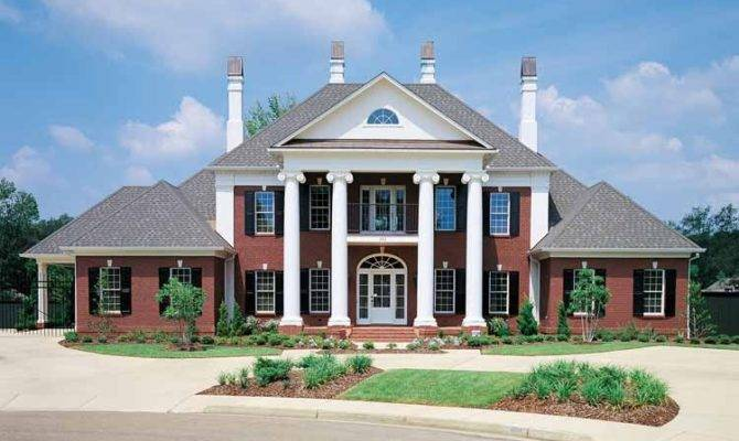 Greek Revival House Plans Eplans Neoclassical