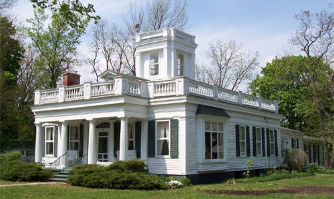 Greek Revival Style House Affair