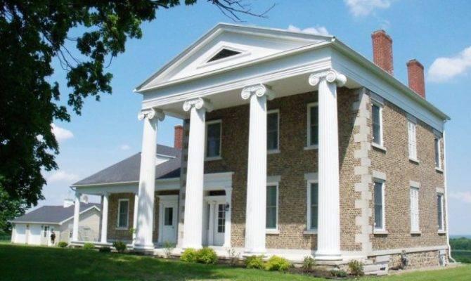 Greek Revival Vermont Home Barns