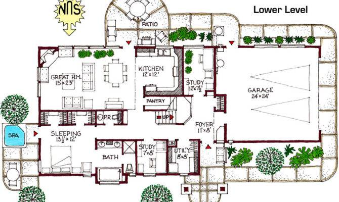 Green Home Designs Floor Plans Peenmedia