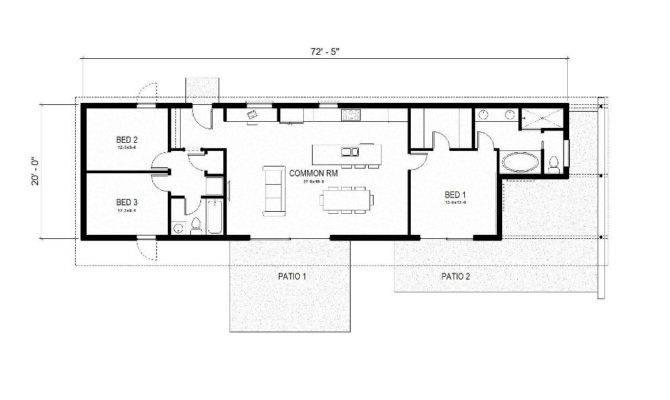 Green Home Floor Plans Environmental House