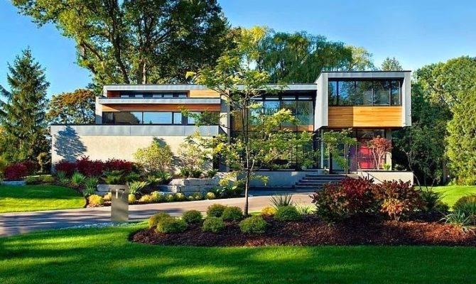 Green Modern House Plans