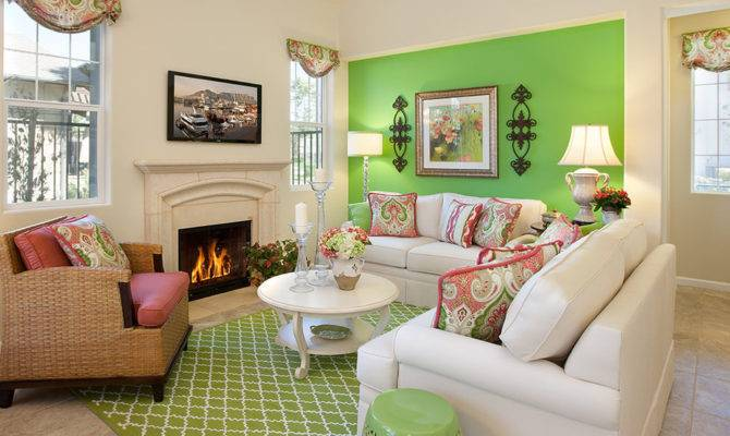 Green Wall Designs Decor Ideas Living Room
