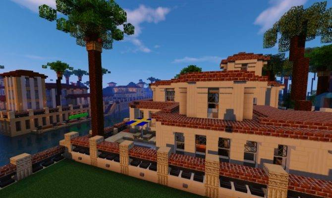 Greenfield Project Italianate Mansion Minecraft