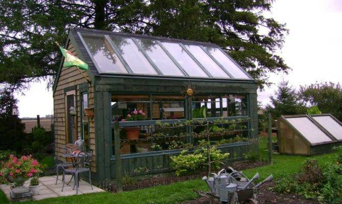 Greenhouse Combination Plans Best Build Lean Shed