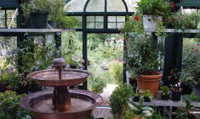 Greenhouse Interior Design Greenhouses