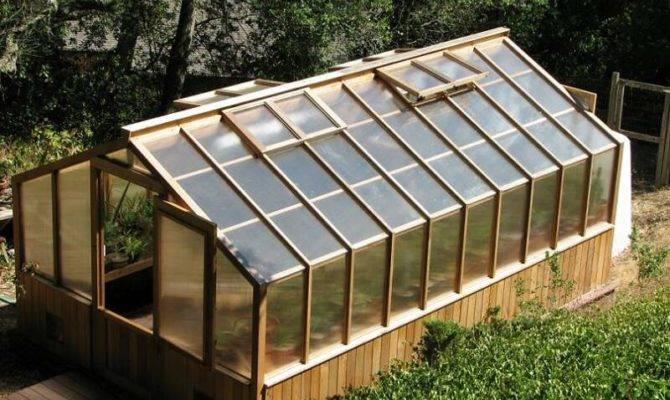 Greenhouse Plans Build