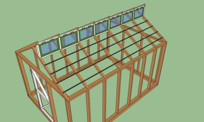 Greenhouse Plans Howtospecialist Build Step