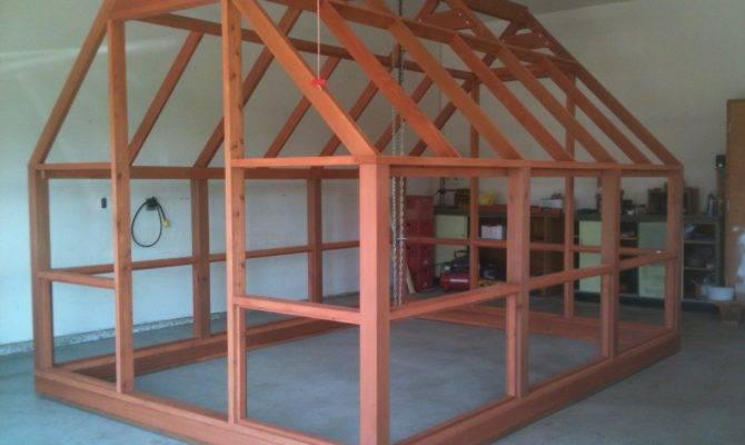 Greenhouse Plans Polycarbonate Covered Cedar Framed