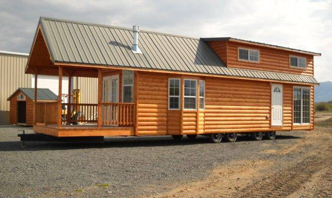 Gromer Park Model Tiny Home Trailer