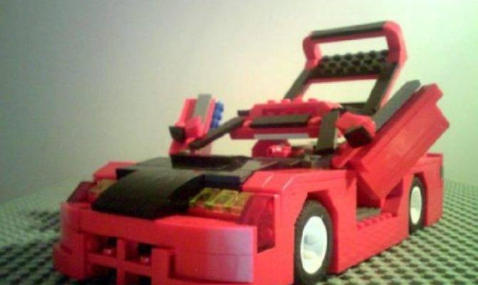 Ground Designs Honda Crx Lego Creation