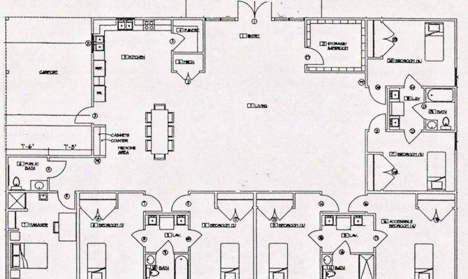 Group Homes Architecture Plans
