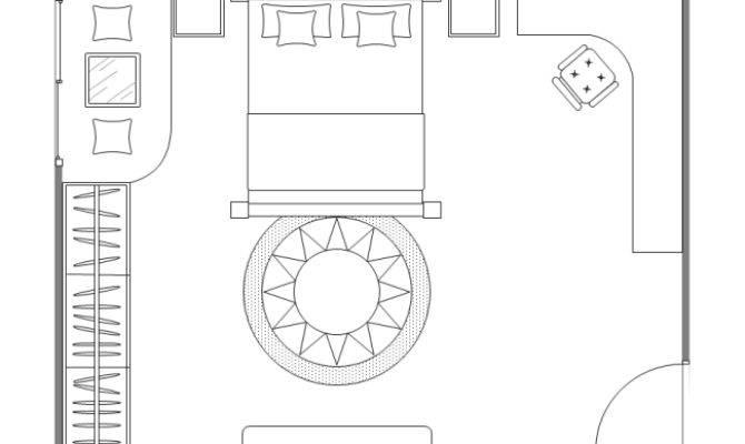 Guest Bedroom Plan Templates