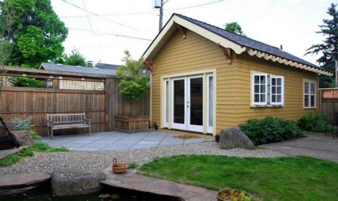 Guest Cabin Plans Small Backyard