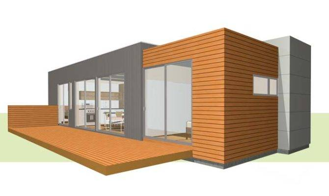 Guest House Comes Several Different Sizes